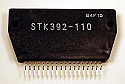 Replacement STK392-110 Chip