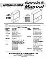 Mitsubishi WT-46805 Service Manual and Schematics.